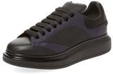 Alexander McQueen Round-Toe Low Top Sneaker