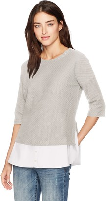 French Connection Women's Dixie Texture Top