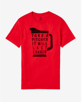 Express take a pitcher graphic t-shirt