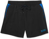 HUGO BOSS Mid-Length Swim Shorts and Cotton-Terry Towel Set