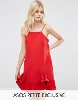 Asos Cami Mini Dress with Ruffle Hem
