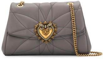 Dolce & Gabbana Heart Plaque Shoulder Bag