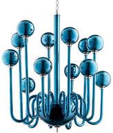 Cyan Marilyn Medium Chandelier - Blue
