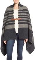 Woolrich 'Fireside II' Wool Blend Poncho