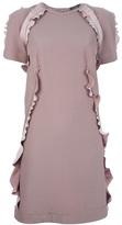 Lanvin frill detailed dress