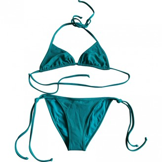 Chloé Green Synthetic Swimwear