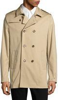 Sondergaard Slim-Fit Double-Breasted Rain Coat