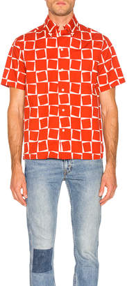Levi's 1950's Short Sleeve Shirt in Atomic Square Print | FWRD
