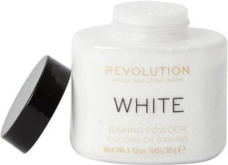 Makeup Revolution Loose Baking Powder White