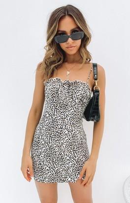 Beginning Boutique Nettie Sleeveless Dress Leopard