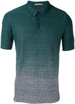 Nuur gradient effect polo shirt