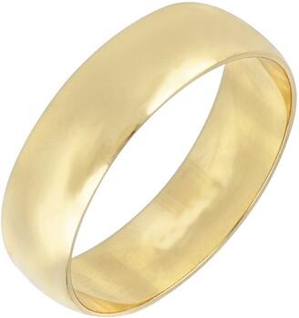 Bony Levy Bon Levy Wedding Band Ring, 6mm
