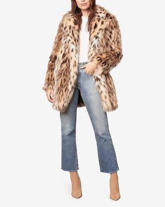 Express Bb Dakota Faux Fur Coat
