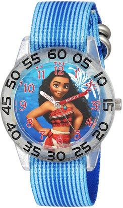 Disney Girls' Moana Analog-Quartz Watch with Nylon Strap