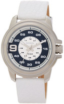 Diesel Men's Sprocket Analog Leather Strap Watch