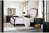 Hooker Furniture CiaoBella Queen Upholstered Panel Headboard Color: Black