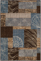 Asstd National Brand Ocean Collage Rectangular Rug