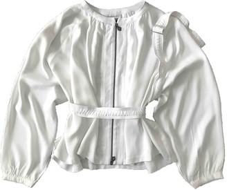 Les Benjamins White Jacket for Women