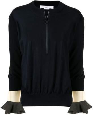 Toga Pulla zip detail sweater