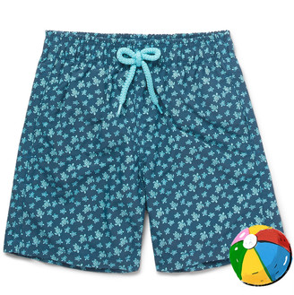 Vilebrequin Boys Ages 10 - 12 Jim Printed Swim Shorts