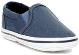 Kenneth Cole New York Reaction Smooth Slip-On Sneaker (Baby)