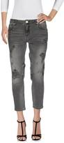 Silvian Heach Denim pants - Item 42606647