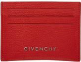 Givenchy Red Pandora Card Holder