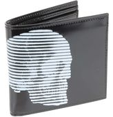 Alexander McQueen 4 Man Wallet Black/white