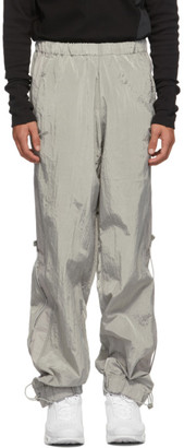 Hyein Seo Grey Logo Wind Lounge Pants
