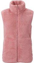 Uniqlo Women Fluffy Yarn Fleece Vest