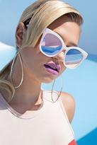 Forever 21 FOREVER 21+ MELT Marble Square Sunglasses