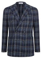Boglioli Double Breasted Check Jacket