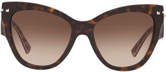 Cat Eye Cat-Eye Gradient Sunglasses