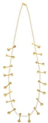 Sophia Kokosalaki Isis Sistrum Droplet Necklace - Womens - Gold