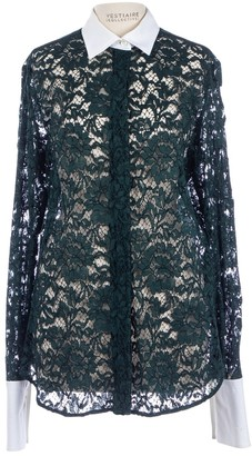 Valentino \N Green Lace Tops