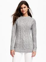 Old Navy Mock-Neck Cable-Knit Sweater for Women