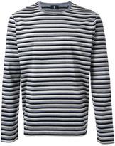 Kent & Curwen striped longsleeved T-shirt