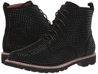 L'Amour des Pieds Raynelle (Black Suede) Women's Shoes