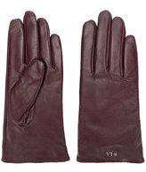 Lauren Ralph Lauren logo plaque gloves