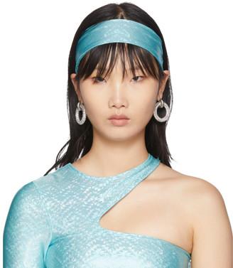 Saks Potts SSENSE Exclusive Blue Stretch Headband