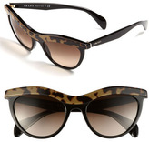 Cat's Eye Sunglasses Brown One Size