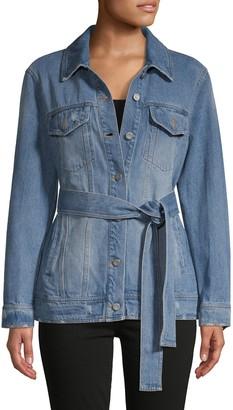 Bagatelle Faded Denim Jacket