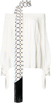 Derek Lam bardot top - women - Silk - 36
