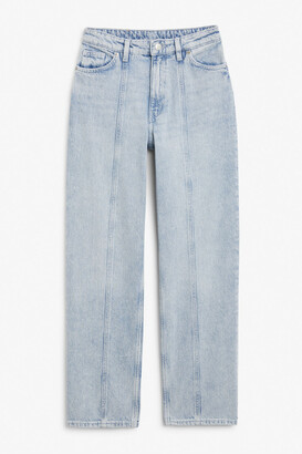 Monki Bella acid-wash jeans