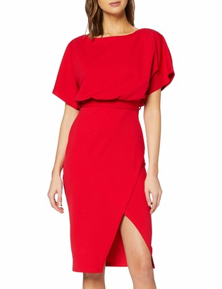New Look Women's GO Batwing Belted Dress Casual
