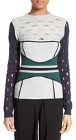 Yigal Azrouel Women's Knit Colorblock Sweater