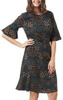 Sugarhill Boutique Leila Wild Floral Dress, Black/Multi
