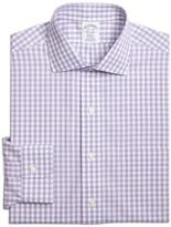 Brooks Brothers Non-Iron Hairline Stripe Regular Fit Dress Shirt
