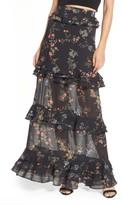Long Ruffle Skirt - ShopStyle