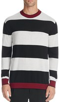 McQ by Alexander McQueen Striped Slim Fit Sweater